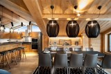 Courchevel 1550 Location Chalet Luxe Niuron Salle A Manger