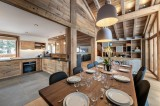 Courchevel 1550 Location Chalet Luxe Nuummite Salle A Manger
