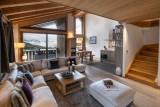Courchevel 1650 Luxury Rental Appartment Allanite Living Room
