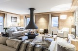 Courchevel 1650 Luxury Rental Appartment Alsola Living Room