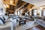 Courchevel 1650 Location Appartement Luxe Altu Séjour