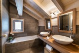 Courchevel 1650 Location Appartement Luxe Aluminite Salle De Bain 2