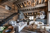 Courchevel 1650 Luxury Rental Appartment Amerile Living Room 2