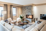 Courchevel 1650 Luxury Rental Appartment Amethyste Living Room 4