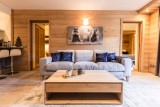 Courchevel 1650 Luxury Rental Appartment Amicite Living Room 3