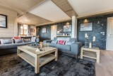 Courchevel 1650 Luxury Rental Appartment Ammonite Living Room 3