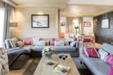 Courchevel 1650 Luxury Rental Appartment Ammonite Living Room 4