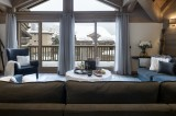Courchevel 1650 Luxury Rental Appartment Angelite Living Room 2