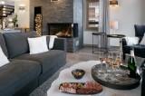 Courchevel 1650 Luxury Rental Appartment Angelite Living Room