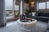 Courchevel 1650 Luxury Rental Appartment Angelite Living Room 3