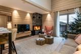 Courchevel 1650 Luxury Rental Appartment Aurelite Living Room 2