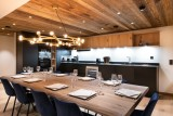 Courchevel 1650 Luxury Rental Appartment Aurolite Dining Room