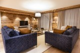 Courchevel 1650 Luxury Rental Appartment Aurolite Living Room 3