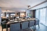 Courchevel 1650 Location Appartement Luxe Neustadelite Salle A Manger 2