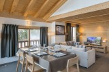 Courchevel 1650 Luxury Rental Appartment Temagamite Dining Room 2