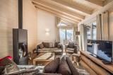 Courchevel 1650 Luxury Rental Appartment Tengerite Living Room