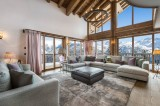 Courchevel 1650 Luxury Rental Chalet Ebella Living Room