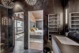 Courchevel 1650 Luxury Rental Chalet Elana Ensuite Bedroom