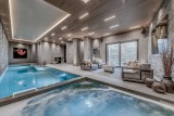 Courchevel 1650 Luxury Rental Chalet Elana Pool