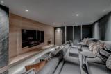Courchevel 1650 Luxury Rental Chalet Elana Cinema Room