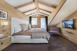 Courchevel 1650 Luxury Rental Chalet Nexilovite Bedroom