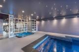 Courchevel 1650 Luxury Rental Chalet Nexilovite Pool