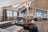Courchevel 1650 Luxury Rental Chalet Nexilovite Living Room 2