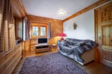 Courchevel 1650 Luxury Rental Chalet Neziluvite Tv Room