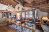 Courchevel 1650 Luxury Rental Chalet Neziluvite Living Room 2