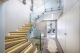 Courchevel 1650 Location Chalet Luxe Novakelite Escalier