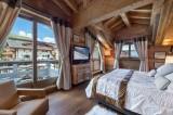 Courchevel 1850 Luxury Rental Appartment Bapilite Bedroom