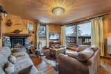 Courchevel 1850 Luxury Rental Appartment Calomel Living Room 2