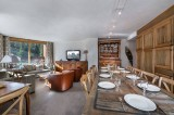 Courchevel 1850 Luxury Rental Appartment Celsiane Dining Room 2