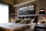 Courchevel 1850 Luxury Rental Appartment Dalpina Bedroom