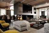 Courchevel 1850 Luxury Rental Appartment Dalpina Living Room