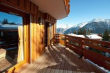 Courchevel 1850 Luxury Rental Appartment Mereli Balcony