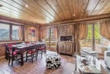 Courchevel 1850 Luxury Rental Appartment Mereli Dining Room