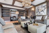 Courchevel 1850 Luxury Rental Appartment Visix Living Room 4