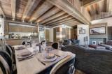 Courchevel 1850 Luxury Rental Appartment Viziro Dining Room 2