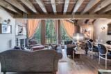 Courchevel 1850 Luxury Rental Appartment Viziro Living Room