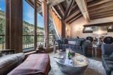 Courchevel 1850 Luxury Rental Appartment Viziro Living Room 2