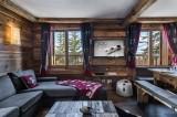 Courchevel 1850 Luxury Rental Chalet Cesarolite Living Room 2