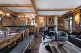Courchevel 1850 Luxury Rental Chalet Cesarolite Living Room 3