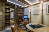 Courchevel 1850 Luxury Rental Chalet Chursinite Games Room 2