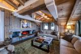 Courchevel 1850 Luxury Rental Chalet Chursinite Living Room 2