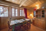 Courchevel 1850 Location Chalet Luxe Cinnamon Salle A Manger