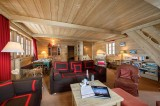 Courchevel 1850 Luxury Rental Chalet Cinnamon Living Room 5