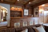 Courchevel 1850 Luxury Rental Chalet Nilia Bar