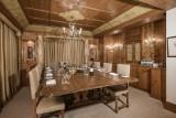 Courchevel 1850 Luxury Rental Chalet Nilia Dining Room 2