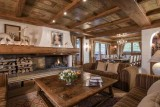 Courchevel 1850 Luxury Rental Chalet Nilia Living Room 2